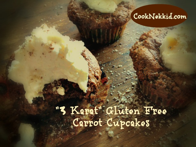 Gluten Free Carrot Cupcakes
